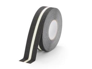 Fotoluminiscenční značení: Protiskluzová páska s fotoluminiscenčním pruhem