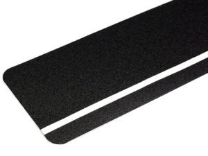 Fotoluminiscenční podlahové značení - Protiskluzová dlaždice: Obdélníková dlaždice s fotoluminiscenčním pruhem