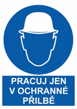Bezpečnostné tabuľky Ochrana hlavy