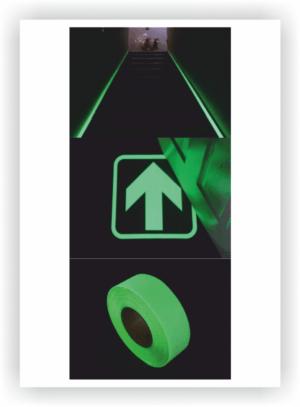 Fotoluminiscenčné pásky a značky