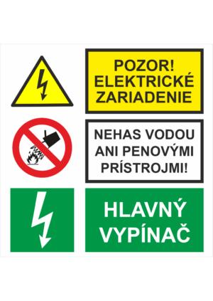 Kombinované tabuľky elektro